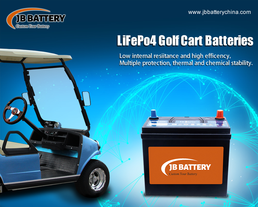 China LifePO4 Golfwagen Batteriepack Hersteller (34)