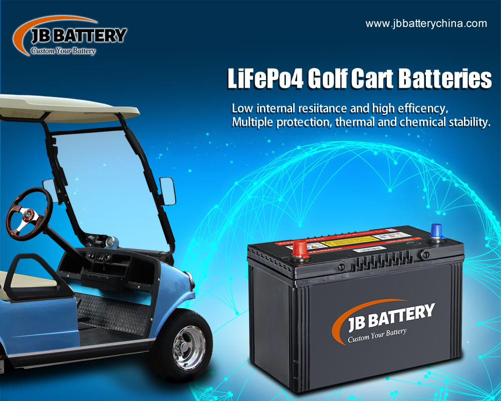 China LifePo4 Golf Cart Battery Pack Hersteller (39)